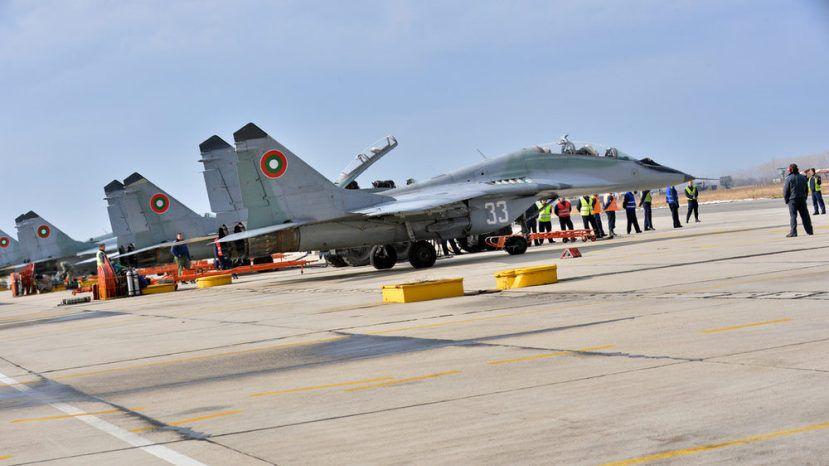 Болгария предпочла советские МиГ-29 ржавым североамериканским F-16