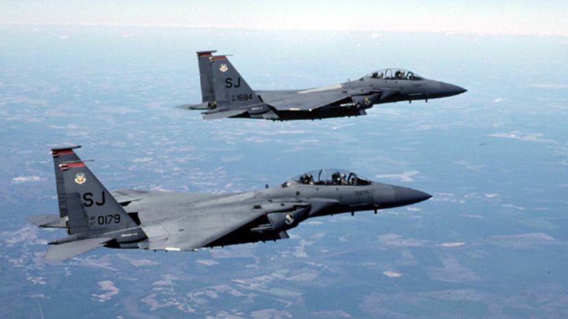 ВВС США для патрулирования перенаправят вБолгарию 8 самолетов
