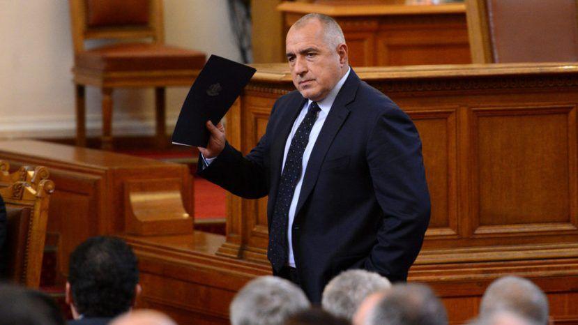 Парламент Болгарии голосует поповоду отставки кабмина