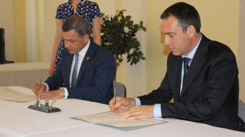 Мэр Бургаса подписал соглашение об установлении партнерских отношений с Ярославлем
