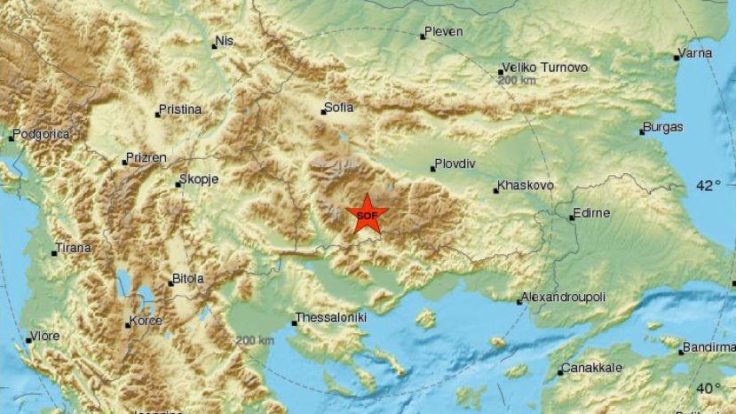 Землетрясение магнитудой 5,4 зафиксировано вАргентине