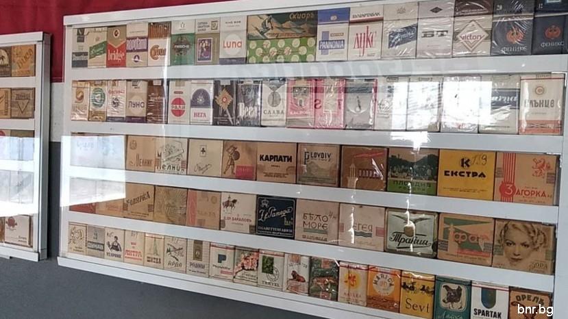 болгарских сигаретных пачек