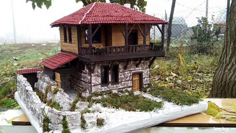 Макеты воссоздают очарование болгарских домов