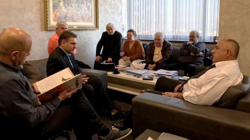 Экс-премьер Болгарии встретился с представителями русофилов